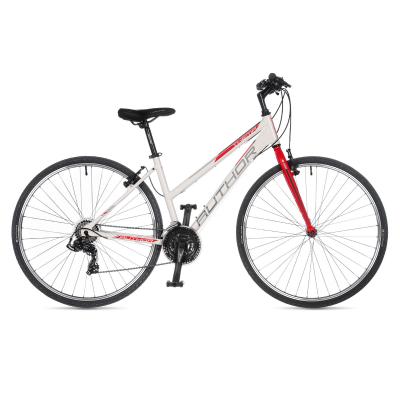Moteriškas dviratis Author Thema, baltas