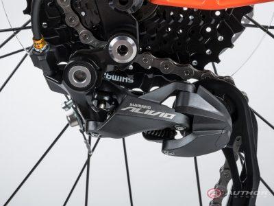 """Kalnų dviratis Author Solution 29"""" 2021, oranžinis"""