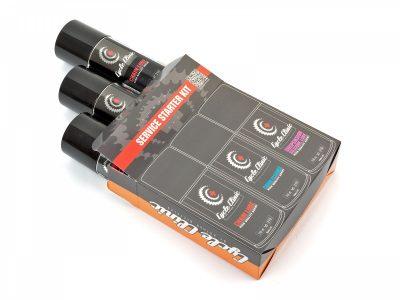 Dviračio priežiūros rinkinys Cycle Clinic Starter Kit 3x150 ml