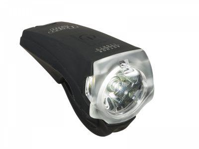 Dviračio lempa Author Nero 300 liumenų USB (juoda)