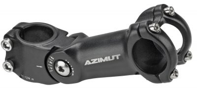 Reguliuojama Vairo iškyša Azimut Ahead 31.8x28.6mm 125mm, juoda