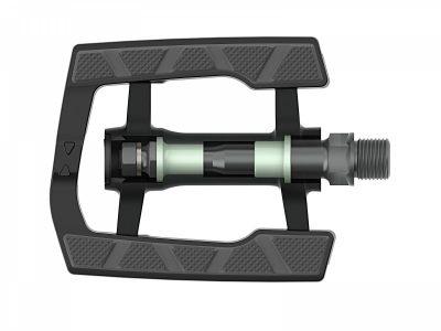 Dviračio pedalai Author APD-326Alu-nSL EPB (juoda/pilka)