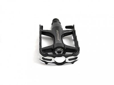 Dviračio pedalai Author APD-427 aliuminiai (juoda/sidabro)
