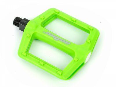 Dviračio pedalai Author APD-F13-nylon (žalia-neonas)