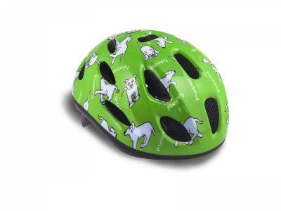 Vaikiškas dviratininko šalmas Author Floppy 48-52 cm (žalia)