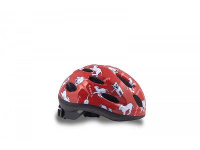 Vaikiškas dviratininko šalmas Author Floppy 48-52 cm (raudonas)