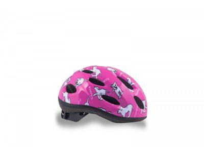 Vaikiškas dviratininko šalmas Author Floppy 48-52 cm (rožinės spalvos)