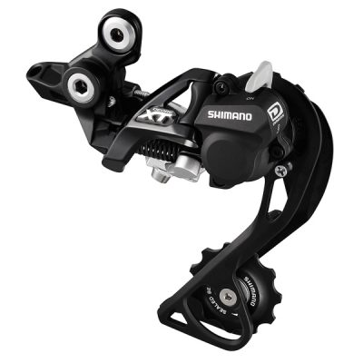 Galinis pavarų perjungėjas Shimano XT GS RD-M786, 10 pavarų Top Nor Shdw+, juodas