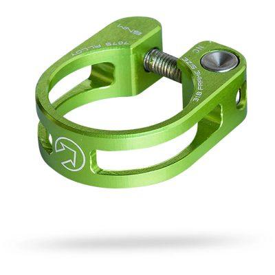 Balnelio stovo užspaudėjas PRO Performance 31.8 mm, žalias
